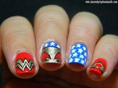 26 Fotos de uñas decoradas con Superhéroes   Decoración de Uñas - Nail Art - Uñas decoradas - Part 2