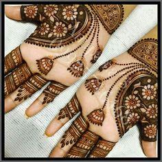 New * Jhumka * Mehndi Design 2018 Mehandhi Designs, Hena Designs, Jhumka Designs, Unique Mehndi Designs, Henna Designs Easy, Beautiful Henna Designs, Latest Mehndi Designs, Bridal Mehndi Designs, Henna Tattoo Designs
