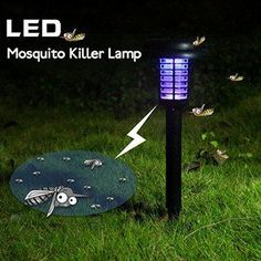 Now you can sit out on the deck in the evening without worrying about being annoyed by the bugs with these Killer Lamp. Once installed, you will not be bother to operate since there is a built-in ligh