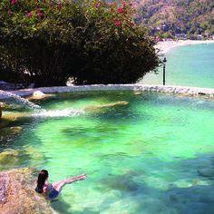 Hotel lagunita en Yelapa, Yelapa (bahía de banderas) jalisco, México: Este pequeño pueblo, apenas en el lugar de la red en México es el destino perfecto para los amantes de la playa y escapistas.