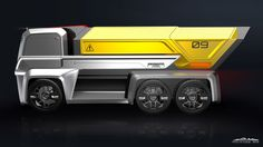 Cadillac TLR Truck Series - Construction on Behance