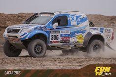 Toyota Dakar 2013