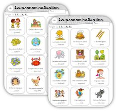 pronominalisation ecline French Flashcards, French Kids, Education And Literacy, French Grammar, French School, Learn French, Interactive Notebooks, Learning, Cycle 2