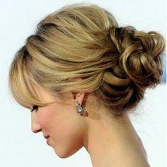 Your hair might be too thick but it is cute and simple @Krista McNamara McNamara Burgin