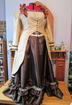 Steampunk Wedding: Coat (Front View)