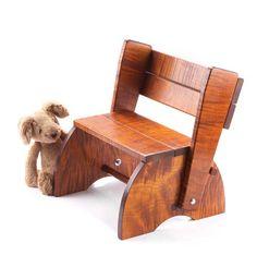 Popular Woodworking step stool