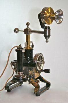 1885 - L.M. Ericsson & Co. Fixed Microphone