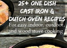 CAST IRON COOKING  Pioneering Today-Dutch Oven Cooking Over an Open Fire - Melissa K. Norris