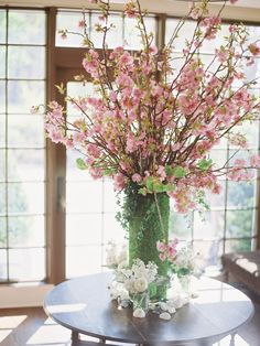 The Importance of Wedding Centerpieces to Your Wedding Reception Planning - Vera's Wedding Help Cherry Blossom Centerpiece, Flower Centerpieces, Wedding Centerpieces, Wedding Table, Diy Wedding, Wedding Decorations, Wedding Reception, Cherry Blossom Wedding, Cherry Blossom Flowers