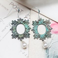 Charming Sentiment Indie Earrings