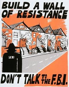 CAIR flyer advising Muslims not to work with FBI