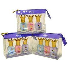 3 Sets for 1 Price - Disney Princess Gilmmer Nail Shine Set - Snow White, Sleeping Beauty, Cinderella, (best nail polish, opi, charm bracelet, disney, nail polish, gift for girls, tiny, very small, charm bracelts, christmas gift)
