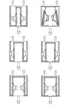 Ripole and Dipole Open Baffle Subwoofer configuration Ripole and Dipole Open Baffle Subwoofer configuration – Heimkino Systemdienste Diy Subwoofer, Subwoofer Box Design, Speaker Box Design, Open Baffle Speakers, Diy Speakers, Woofer Speaker, Speaker Plans, Audio Design, Electronic