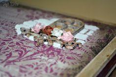 Tays Rocha: Caixa bicicleta vintage em scrap decor #taysrocha #artesanato #crafts #scrapdecor #vintage