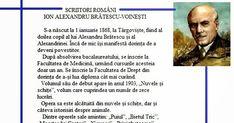 Ion Alexandru Brătescu - Voinești s-a născut pe data de 1 ianuarie 1868 la Târgoviște. Încă de mic și-a exprimat dorința de a se face povest...