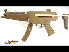 How To Make Mp5 That Sh00ts - With Magazine - YouTube