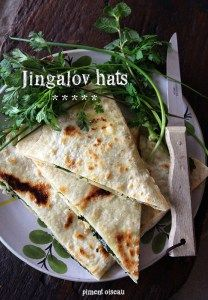 Piment oiseau - Jingalov hats / Galettes farcies aux herbes
