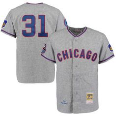 169d76f3 ... greece mens 1968 chicago cubs ferguson jenkins mitchell ness gray  authentic throwback jersey 24fd8 2f754