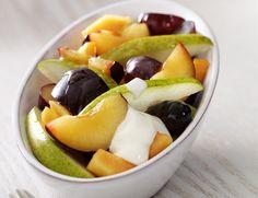 Opskrift   Hjerteforeningen Pudding Desserts, Fruit And Veg, Salads, Deserts, Sweets, Snacks, Dinner, Healthy, Is