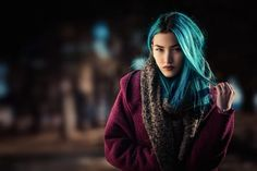 dyed hair nose rings depth of field Best Portrait Photography, Hair Photography, Photography Studios, Depth Of Field, Female Portrait, Dyed Hair, Dreadlocks, Photoshop, Actresses