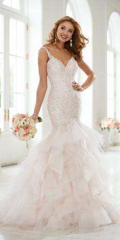 Trendy Stella York Wedding Dresses You Will Adore ❤ See more: http://www.weddingforward.com/stella-york-wedding-dresses/ #weddings