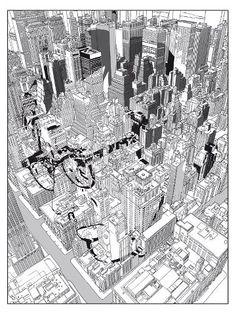 Woody Allen & Manhattan http://elcondensadordefluzo.blogs.fotogramas.es/2013/04/07/9-carteles-de-cine-inspirados-en-la-ciudad-de-nueva-york/woodymanhattan/