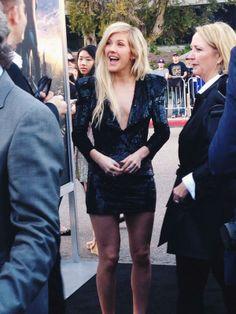 Ellie Goulding at the #DivergentPremiere