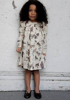 Gorgeous little girl and dress!
