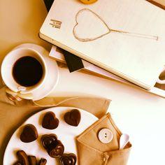 Coffee and orange-chocolate
