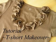Tea Rose Home: T-Shirt Makeover and More
