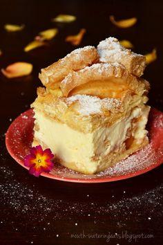 Savory magic cake with roasted peppers and tandoori - Clean Eating Snacks Polish Desserts, Polish Recipes, Sweets Cake, Cupcake Cakes, Cheesecake Recipes, Dessert Recipes, Different Cakes, Savoury Cake, No Bake Cake