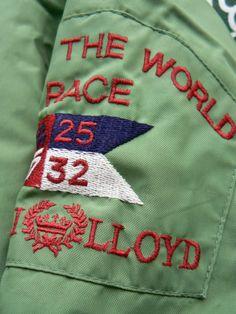 Vintage Henri Lloyd Consort Jacket Detail