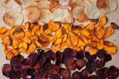 Easy to make oven baked crisps with sea salt and black pepper. Requires just 4 ingredients and is a better way to get in that crisp craving. This recipe is Vegan Gluten Free Nut free No added Sugar Vegetable Slice, Vegetable Crisps, Oven Baked Vegetables, Root Vegetables, Fresh Beets, Cracked Pepper, Different Vegetables, Create A Recipe, What To Cook
