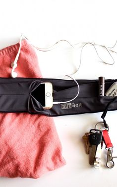 Flip Belt - Holds all of your important personal belongings when you're on the go!