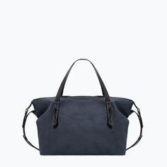 Discover the new ZARA collection online. The latest trends for Woman, Man, Kids and next season's ad campaigns. Bowling Bags, Zara New, Zara United States, Men's Collection, Mens Fashion, Tote Bag, Minimalist, Stuff To Buy, Shopping