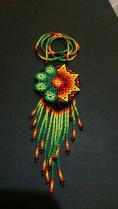 Origami Flowers Tutorial, Flower Tutorial, Beaded Jewelry, Beaded Necklace, Handmade Leather Shoes, Zulu, Native Art, Beaded Flowers, Jewelery