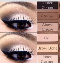 Naked Basics Palette Eyeshadow LookPlease share and like