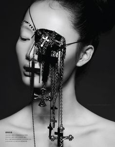Rouge Magazine China with Model Samantha Xu by Michael Creagh, via Behance