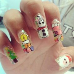 #nails #uñas #navidad