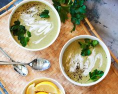 No-Cheddar Broccoli Soup. Don't tell that these don't have cheese, and your kids will love the creamy rich texture and flavor!