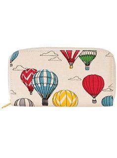 Hot Air Balloon Panorama Wallet at PLASTICLAND