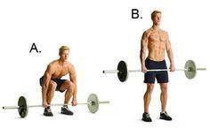 Barbell Deadlift http://www.menshealth.com/fitness/body-you-want-28-days?slide=2