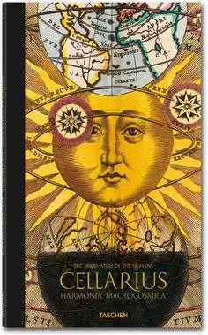 Andreas Cellarius. Harmonia Macrocosmica,  Author : Robert van Gent  Publisher : Taschen