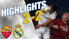 GOALS & HIGHLIGHTS | Roma 2-2 Real Madrid Real Madrid Highlights, Real Madrid Club, Twitter, Youtube, Goals, Instagram, Rome, Thanks, Youtubers