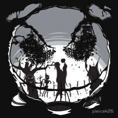 Best Tim Burton Inspired T Shirts on RedBubble | 25. The Pumpkin Kiss – by piercek26