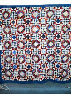 Carolina Crossroads (a Bonnie Hunter pattern)  Love the colors!