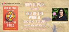 Stephanie Jane: How To Pack For The End Of The World by Michelle F... Free Books, Good Books, Wanderlust Book, Book Corners, 12th Book, Day Book, End Of The World, Book Title, Love Book