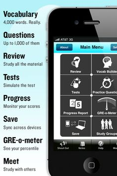 GRE Test prep app... If only I had a decent phone. :/