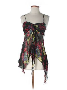 Check it out - Hale Bob Sleeveless Silk Top for $30.49 on thredUP!