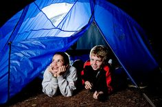 Campout in your backyard!
